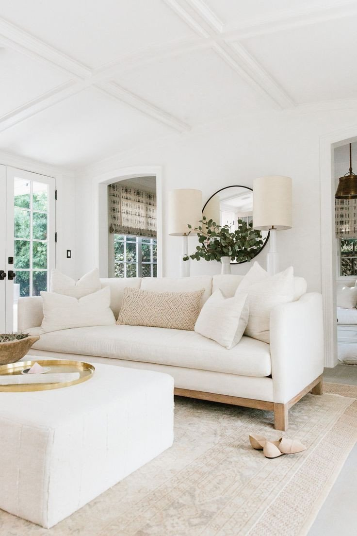 White Living Room Decor Ideas Awesome Erin S Feature On Rip Tan