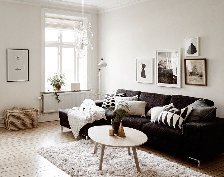 White Living Room Decor Ideas Beautiful 48 Black and White Living Room Ideas Decoholic