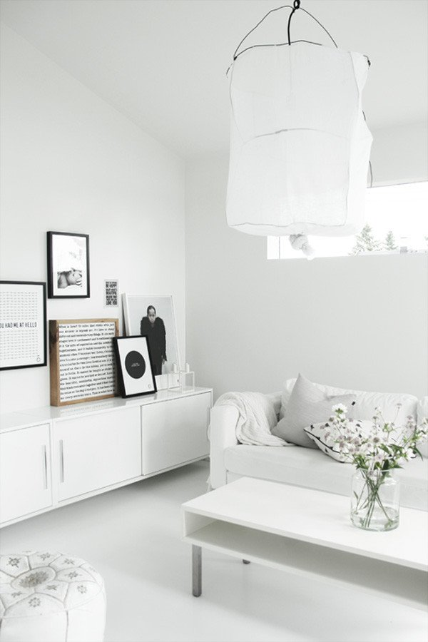 White Living Room Decor Ideas Beautiful Decorating Ideas 10 All White Rooms Design Milk