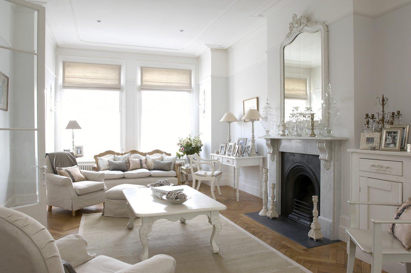 White Living Room Decor Ideas Beautiful White Traditional Living Room Living Room Design Ideas