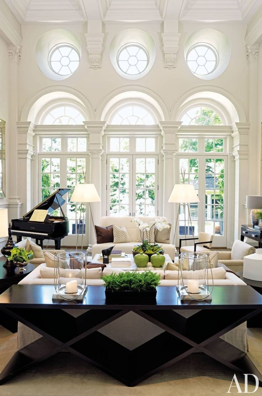 White Living Room Decor Ideas Inspirational Black and White Living Room Interior Design Ideas