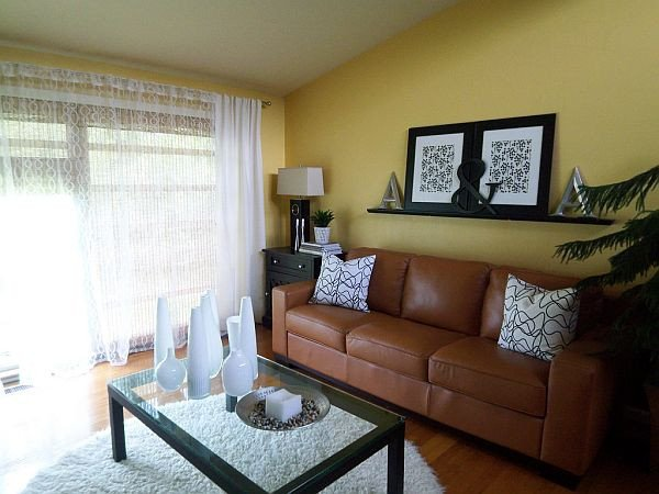Yellow Decor for Living Room Awesome Yellow Living Room Design Ideas
