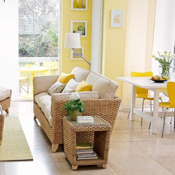 Yellow Decor for Living Room Best Of Sunny Yellow Living Room Design Ideas