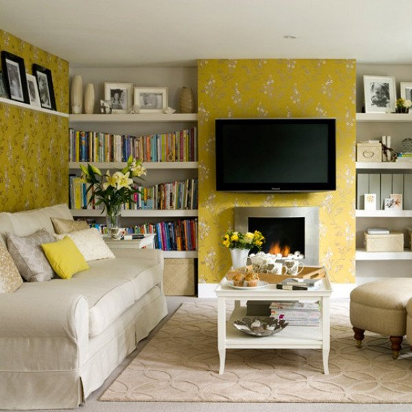 Yellow Decor for Living Room Elegant Sunny Yellow Living Room Design Ideas