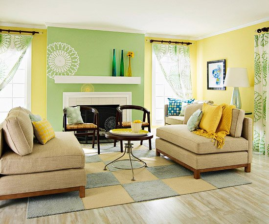 Yellow Decor for Living Room Lovely Yellow Living Room Design Ideas