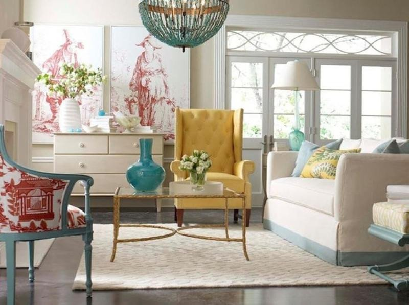 Yellow Decor for Living Room Unique 20 Charming Blue and Yellow Living Room Design Ideas Rilane